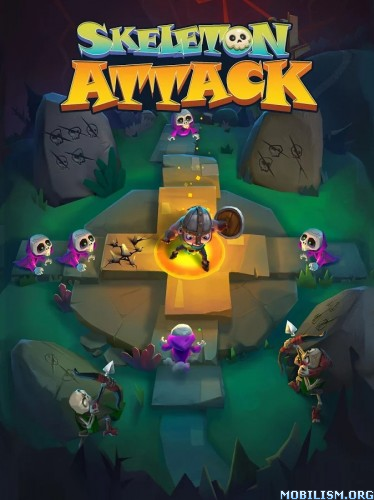 Skeleton Attack v1.1.0 [Mod Money] Apk