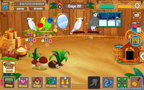 Bird Land Paradise v1.45 [Mod] Apk