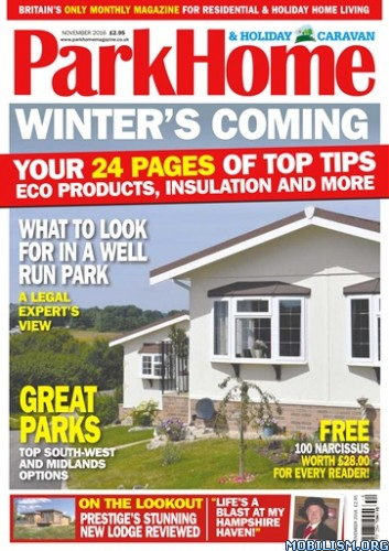 Download ebook Park Home & Holiday Caravan - November 2016 (.PDF)