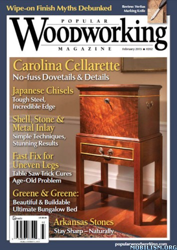 Magazines • Popular Woodworking – February 2013 (.PDF)
