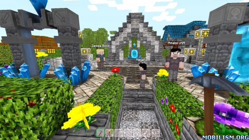 Craft & Magic - Block worlds v1.112.1294 Apk