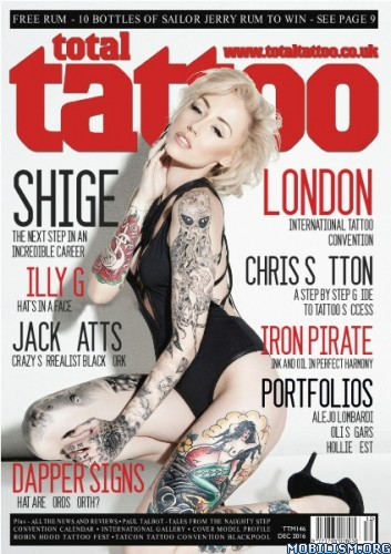 Download ebook Total Tattoo - December 2016 (.PDF)