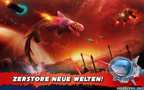 Hungry Shark Evolution v3.7.2 [Mega Mod] Apk