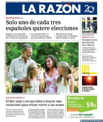 La Razón – 05 August, 2019 [ESP]
