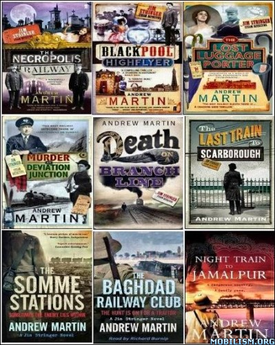 eBook Releases • Jim Stringer railway mysteries (1-9) by Andrew Martin (.MP3)