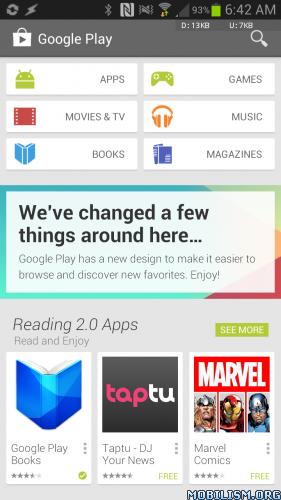 Google Play Store v4.1.10 Patched + Installer v1.1.2 MOD ?dm=Q267