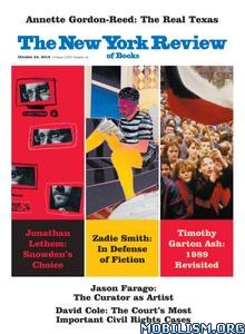 The New York Review of Books – October 24, 2019