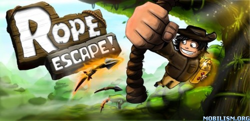 Rope Escape v1.21 [Unlimited Coins] Apk