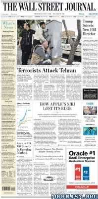 Download ebook The Wall Street Journal – 08 June 2017 (.PDF)