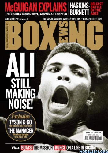 Download ebook Boxing News - 8 June 2017 (.PDF)