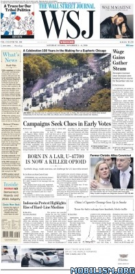 Download ebook The Wall Street Journal – 05 November 2016 / USA (.PDF)