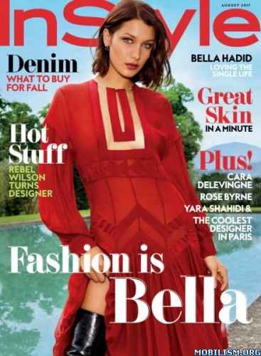 Download ebook InStyle USA – August 2017 (.PDF)