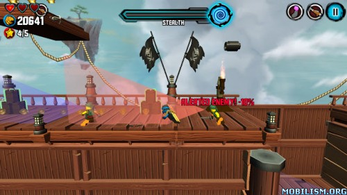 LEGO Ninjago: Skybound v3.0.265 [God Mode] Apk