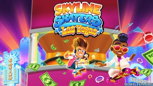 Skyline Skaters v2.8.0 [Unlimited Coins/Cash] Apk