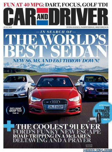 Car and Driver - July 2012 (.PDF)