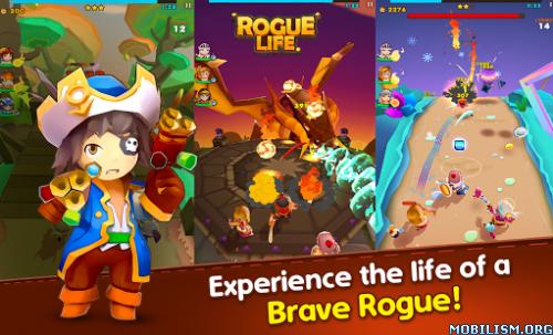 Rogue Life: Squad Goals v1.3.5 (Mega Mods) Apk