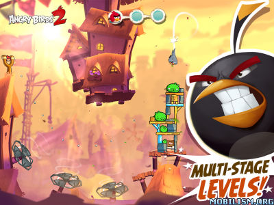 Angry Birds 2 v2.6.5 [Mod Gems/Energy & More] Apk
