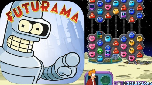 Futurama: Game of Drones v1.8.2 (Mod Money/Lives/Ad-Free) Apk