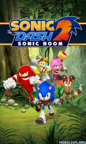 Sonic Dash 2: Sonic Boom v1.5.0 Mod Apk