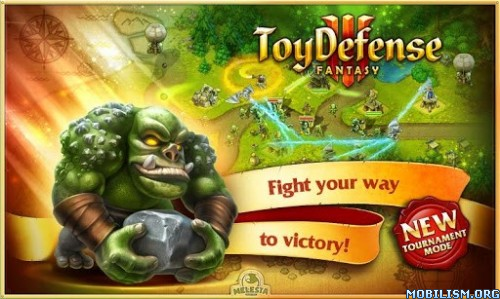 Toy Defense 3: Fantasy – TD v1.22.1 (Mod Money) Apk