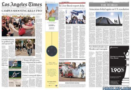 Los Angeles Times – November 15, 2019