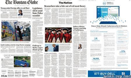 The Boston Globe – October 01, 2019
