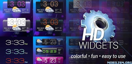HD Widgets Apk v3.7.5