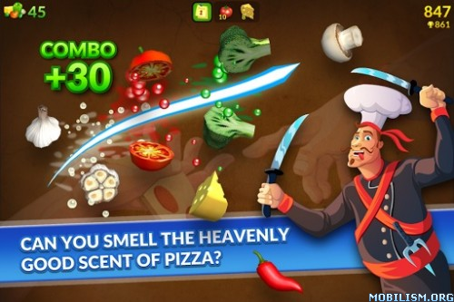Pizza Ninja Story v1.0.16 [Mod Money] Apk