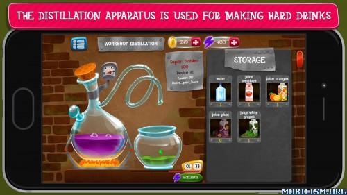 Alcohol Factory Simulator v1.5 [Mod Money/Energy/Level] Apk
