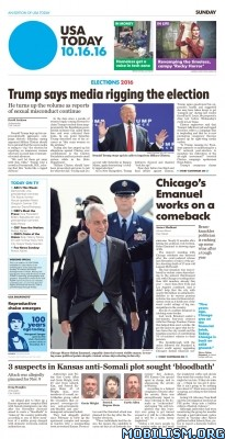 Download ebook USA Today – 16 October 2016 (.PDF)