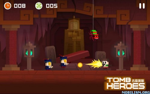Tomb Heroes v1.1.0 [Mod Money/Unlocked] Apk
