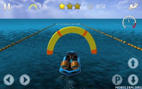 Modern Hovercraft Racing 2015 v1.4 (Mod Money) Apk