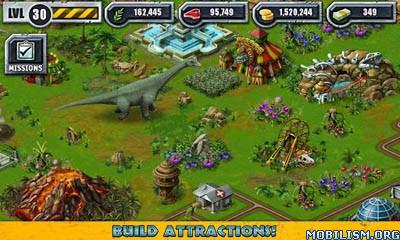 Game Jurassic Park Builder v4.7.10 Latest Mod Android