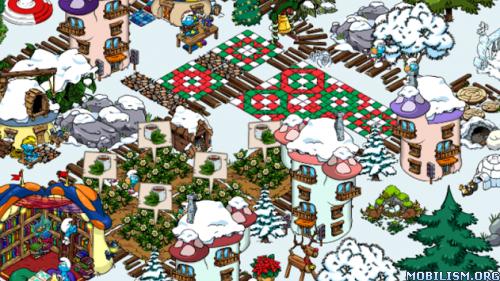 Smurfs' Village v1.7.1a (Mod Gold/Smurf Berry/Resource) Apk