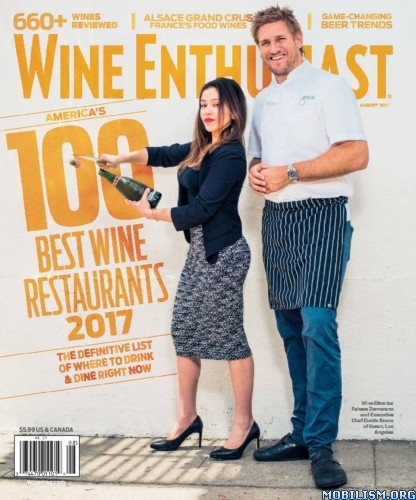 Download ebook Wine Enthusiast - August 2017 (.PDF)
