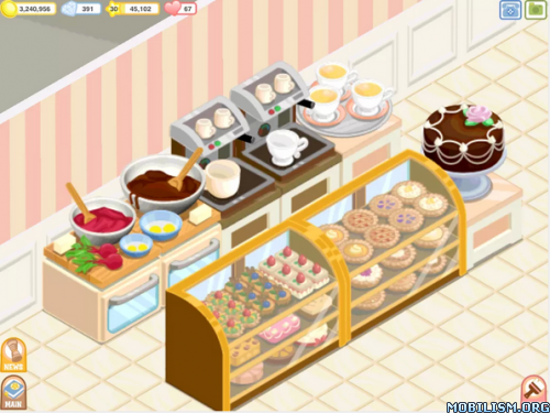 Bakery Story™ apk v1 5 5 7 4 MOD[Unlimited Money] ~ ANDROID