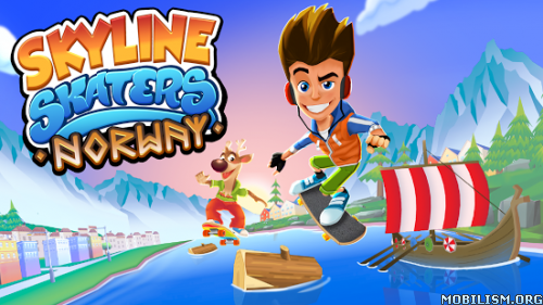 Skyline Skaters v2.12.0 [Mod Money] Apk