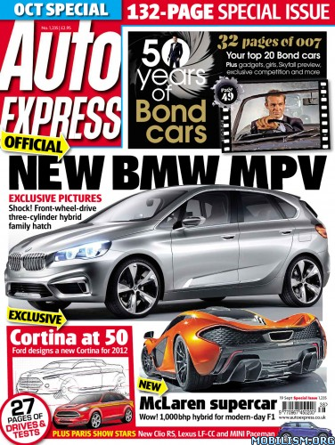 Magazines • Auto Express – 19 September 2012 (.PDF)