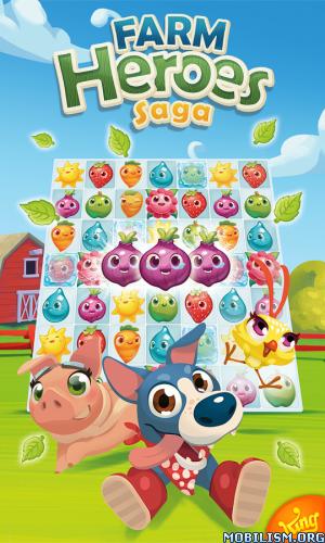 Farm Heroes Saga v2.60.8 [Mods] Apk