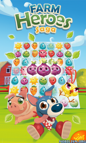Farm Heroes Saga v2.61.1 [Mod] Apk