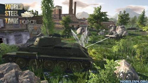 World Of Steel : Tank Force v1.0.1 (Mod Money) Apk