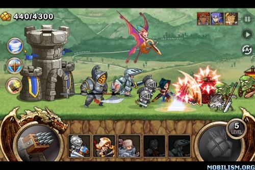 Kingdom Wars v1.1.9 [Mod Money] Apk