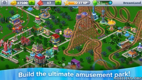 RollerCoaster Tycoon 4 Mobile v1.9.1 [Mod Money/Unlocked] Apk