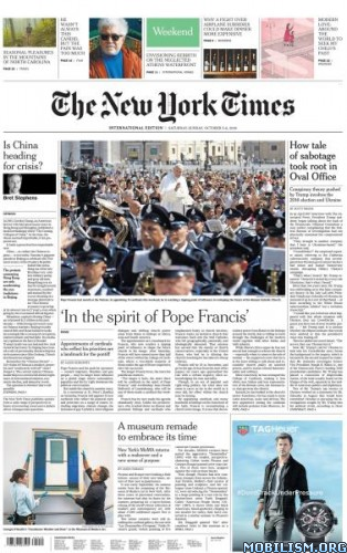 International New York Times – 05/06 October 2019