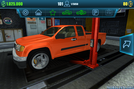 Car Mechanic Simulator 2016 v1.1.1 (Mod Money) Apk