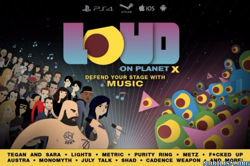 LOUD on Planet X v1.0.12 build 2 + Unlocked Apk