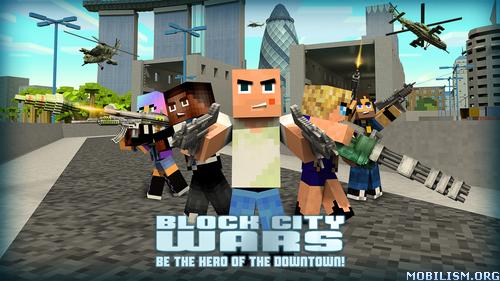 Block City Wars v4.3.1 (Mod Money) Apk