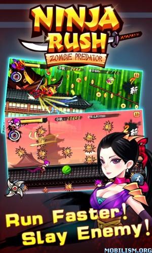 Ninja Rush Zombie Predator v1.0.4 [Mod Money]