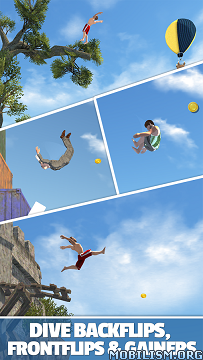 Flip Diving v2.3.1 (Mod Money) Apk