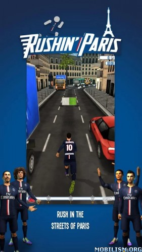 Rushin' Paris 15/16 v2.0 [Mod Money/Premium] Apk